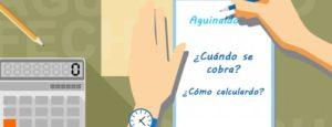 Como calcular lo que vas a cobrar de Aguinaldo y cuando?