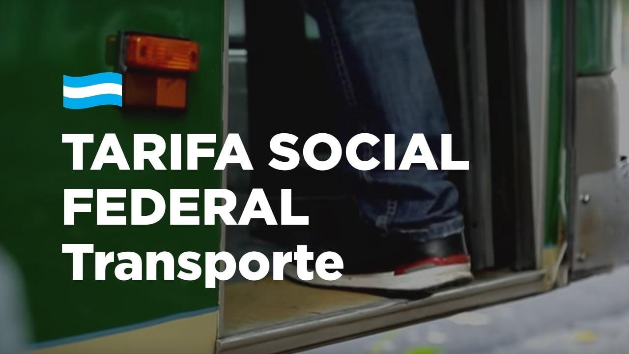 Tarifa Social Federal de Transporte