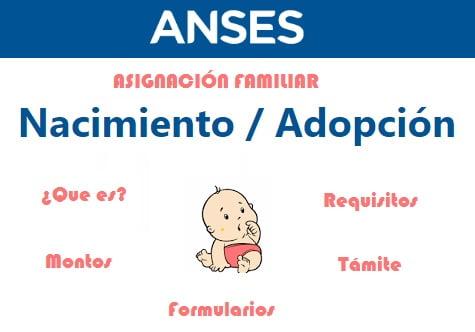 Asignación Familiar por Nacimiento o Adopción