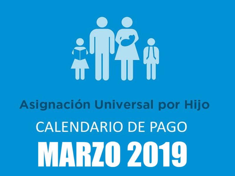 Calendario de pago de la Asignación Universal por Hijo de Marzo