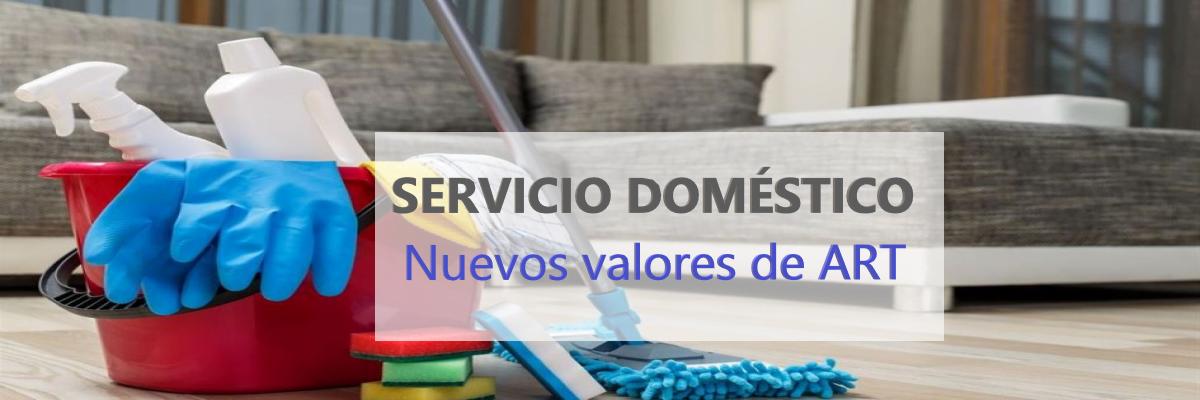 aumento al aporte mensual para Servicio Doméstico