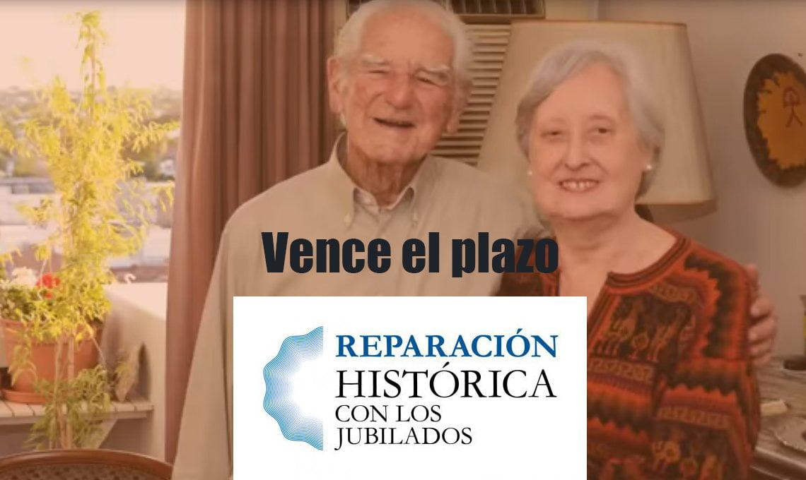 Plazo para tramitar la Reparación Histórica