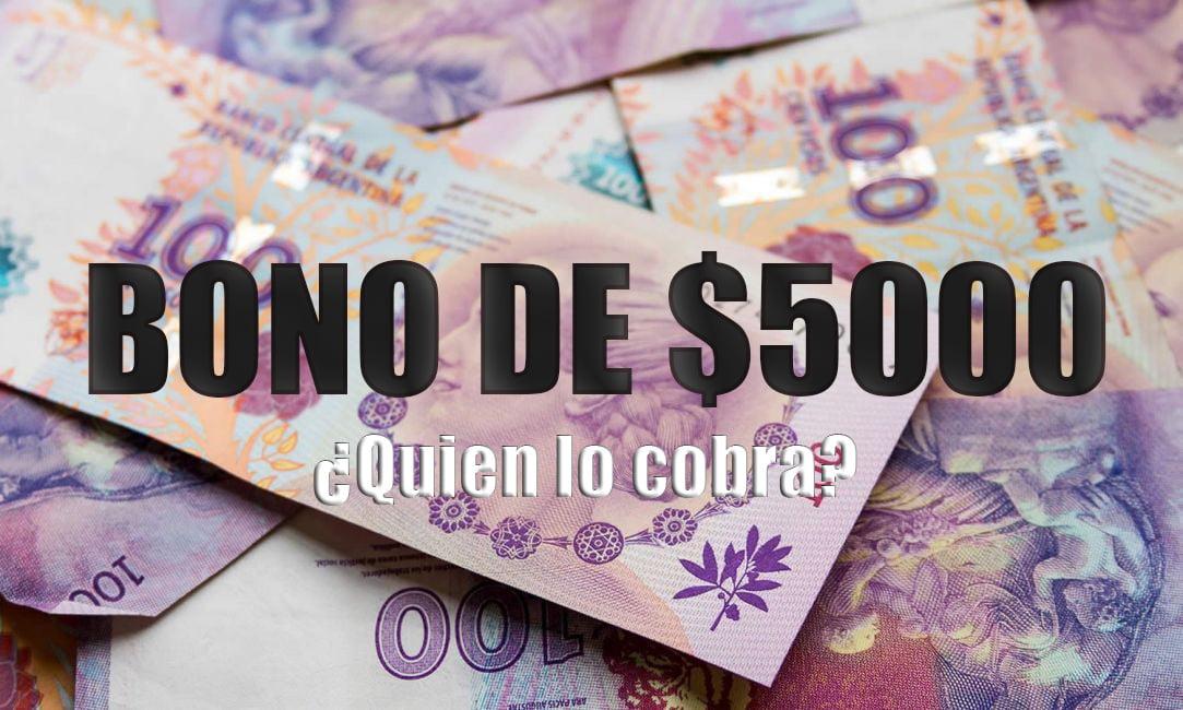 Bono de 5.000 pesos