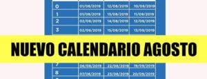 Cambios en Calendario de pagos de Anses: AGOSTO 2019