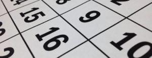 Calendario de cobro primera semana de NOVIEMBRE