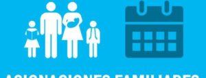 Fechas de cobro Asignación Familiar ENERO 2020