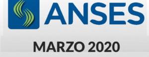 Calendario Anses semanal: Segunda semana de MARZO 2020