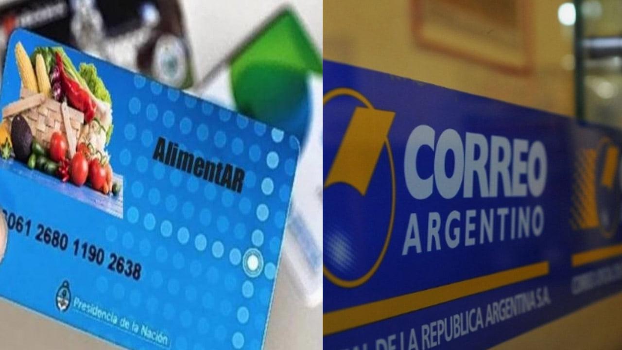 Tarjeta Alimentar por Correo Argentino