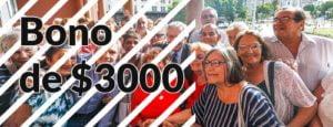 Bono de 3000 pesos para Jubilados: Lo cobraran a partir del 8 de Abril