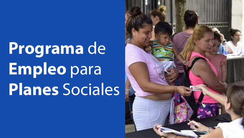 Programa de Empleo para Planes Sociales