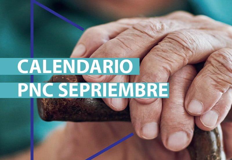 Fechas de cobro Pensiones no contributivas de Septiembre